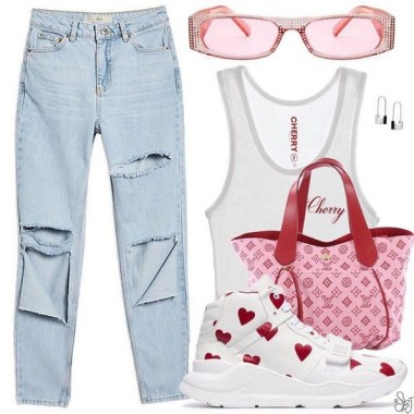 17 Beautiful Polyvore Outfits Ideas For Valentine'S Day 23