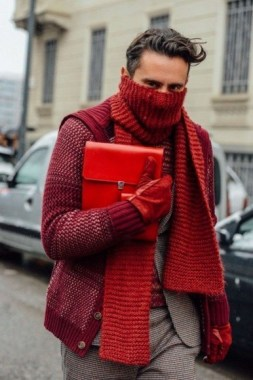 17 Elegant Winter Scarf Ideas Men 2019 Trends 24