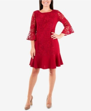 18 Attractive Lace Shift Dress Outfit Ideas For Spring 07