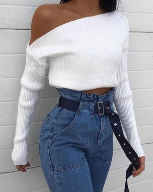 18 Stunning White Fashion Style Ideas Suitable For Fall 05