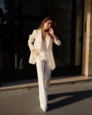 18 Stunning White Fashion Style Ideas Suitable For Fall 16
