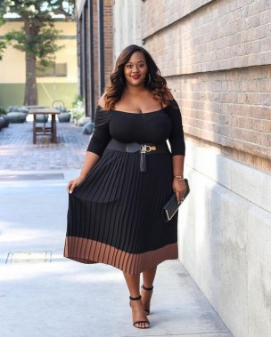 19 Adorable Big Size Outfits To Wear This Fall 02