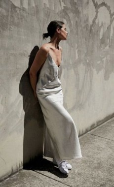 19 Casual Slip Dress Outfit For Spring 2019 21