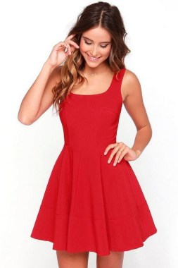 19 Cozy Red Dresses Ideas For Valentine'S Day 18 2