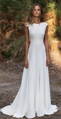 19 Incredible Fall Wedding Dress Trends 23 1