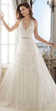 20 Fabulous Spring Wedding Dress Ideas Trends 30