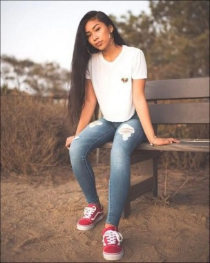 21 Casual Teen Outfits For School With Vans 23