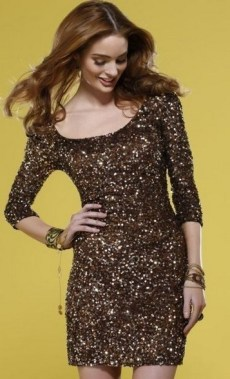21 Modern Sequined Dresses Christmas New Year Parties Ideas 25
