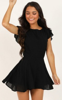 25 Gorgeous Little Black Summer Dress Ideas 01
