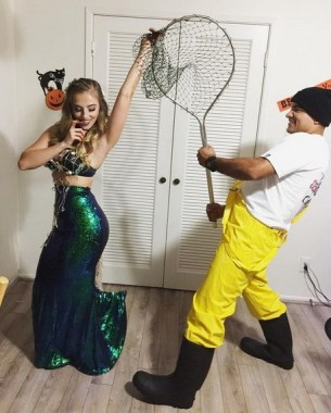26 Unique And Creative Halloween Couples Costumes Ideas 22