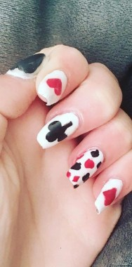 28 Free Valentine's Day Nail Ideas That We Are Not Tacky 2019 17