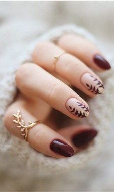 20 Fashionable Patterns For Winter Nail Arts 07