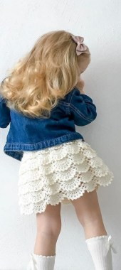 20 TOP Fabulous FREE Patterns For Crochet Skirts 02
