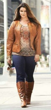 25 Fabulous Plus Size Women Outfit For Fall 08
