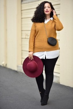 25 Fabulous Plus Size Women Outfit For Fall 18