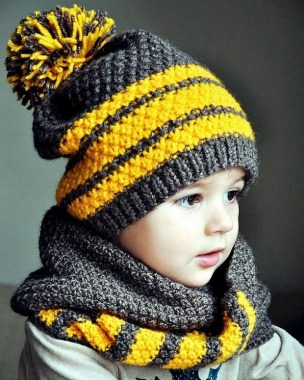 25 Free Winter Cute Baby Crochet Hat And Scarf Patterns New 21