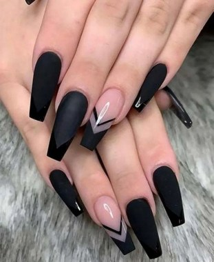 27 Coffin Nail Designs To Copy 27