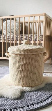 28 Amazing Crochet Baskets For Free Ideas 23