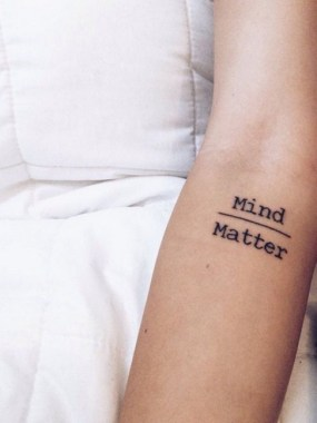 28 Small Quotes Tattoo Ideas For Your First Design 03