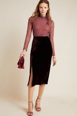 29 This Classy Skirt Is Your Best Choice For Work During Fall 21