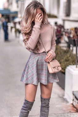 29 This Classy Skirt Is Your Best Choice For Work During Fall 25