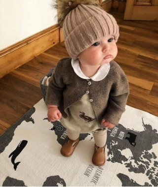 29 Winter Kid's Outfits For Any Events 13