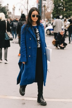 33 Fashionable Winter Coats From Paris Fashion Week 14