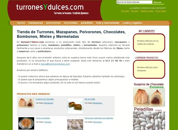 turronesydulces