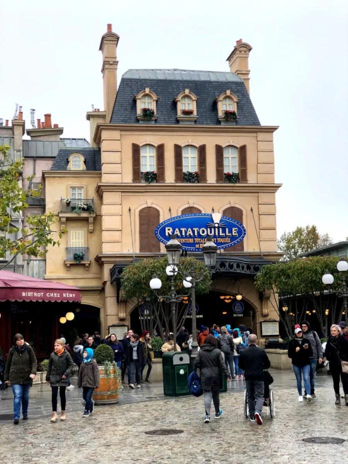 Ratatouille de Disneyland Paris