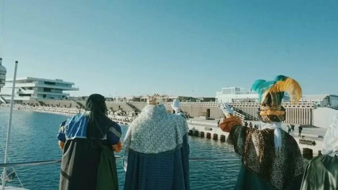 Reyes Magos en el Puerto de Valencia