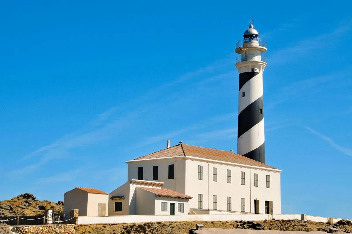 Que ver en Menorca, Faro de Favaritx