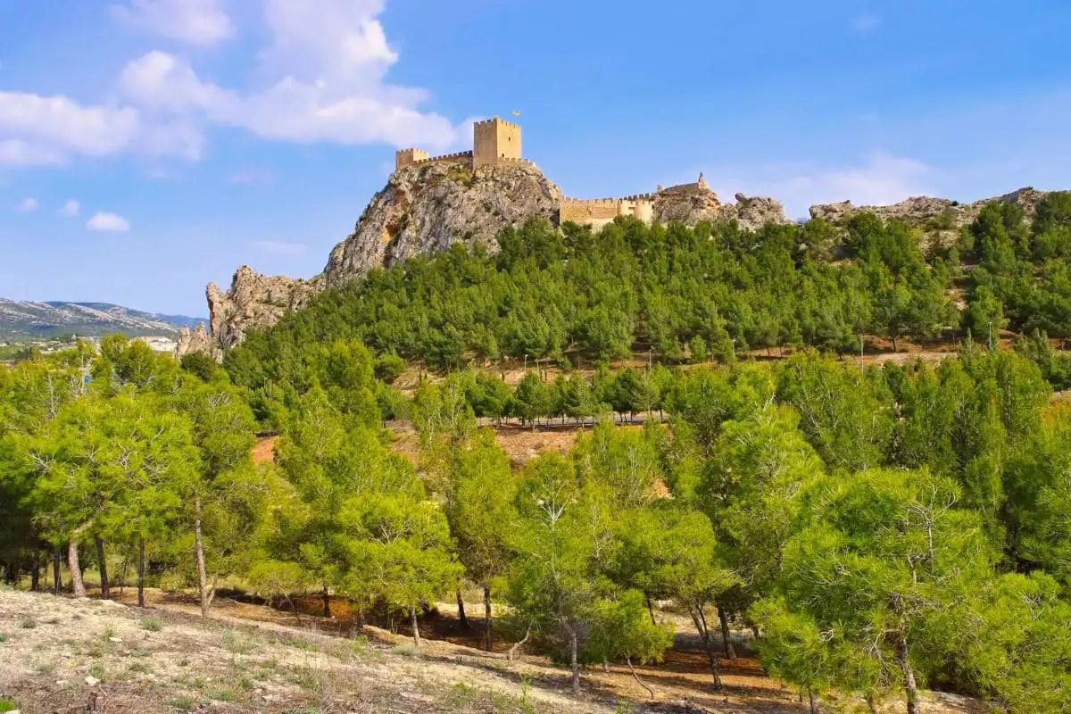 Los pueblos mas bonitos del interior de Alicante, Sax