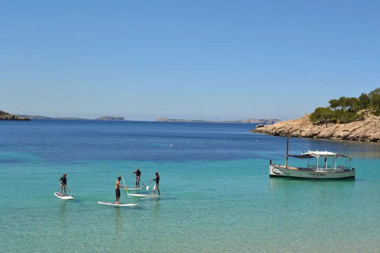 Paddle surf en Ibiza