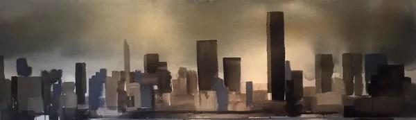 Acuarela de New York de Patricia Iranzo
