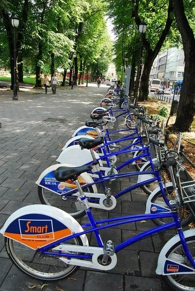 Alquiler de bicicletas en Karl Johans Gate en Oslo