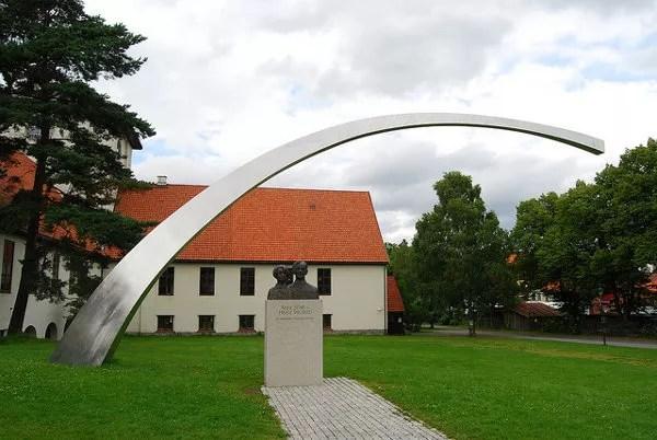 Arco del Museo de Barcos Vikingos de Oslo