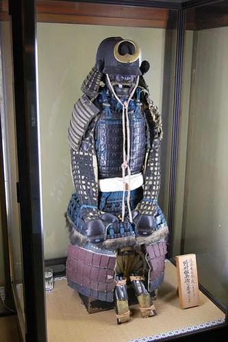 Armadura de la casa de samuráis Nomura