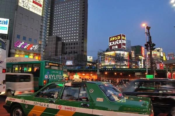 Atardecer en Shinjuku