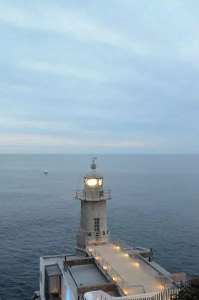 Atardecer en el Faro de Santa Catalina en Lekeitio
