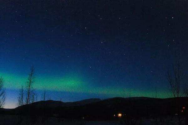 Aurora Boreal desde Nikkaluokta