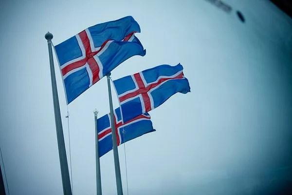 Banderas de Islandia