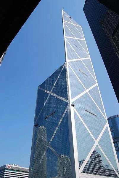 Bank of China Tower de día