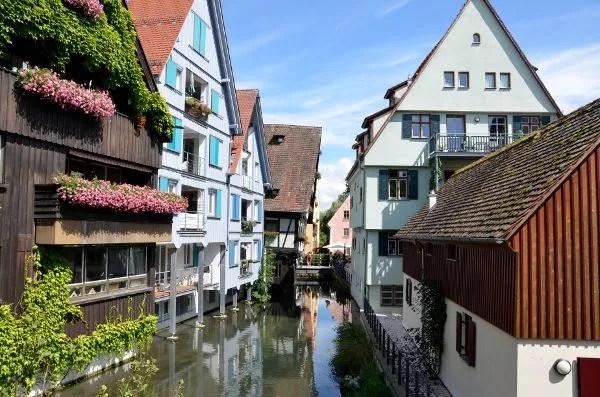 Barrio de los pescadores de Ulm