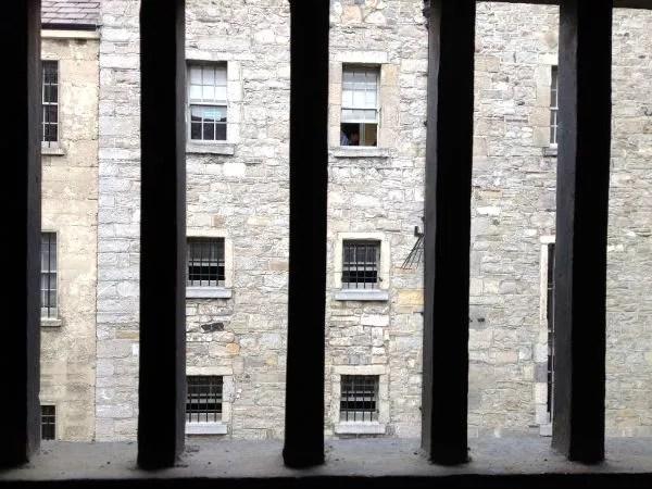 Barrotes de Kilmainham Gaol, la cárcel de Dublín