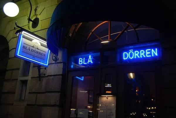 Blå Dörren, un buen restaurante en Estocolmo