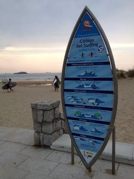 Código del Surfing en Somo, Cantabria