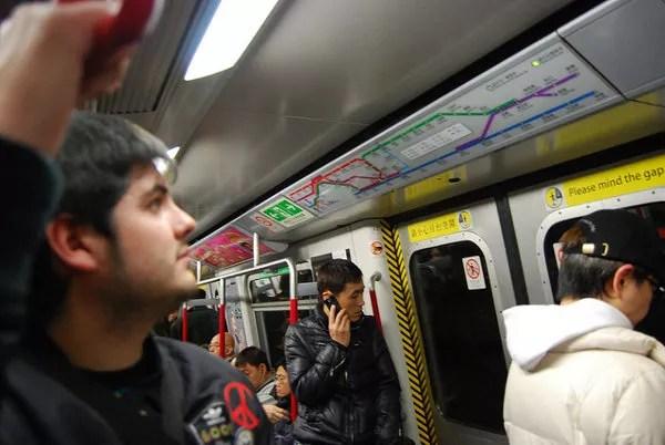 Cómo moverse con el metro de Hong Kong