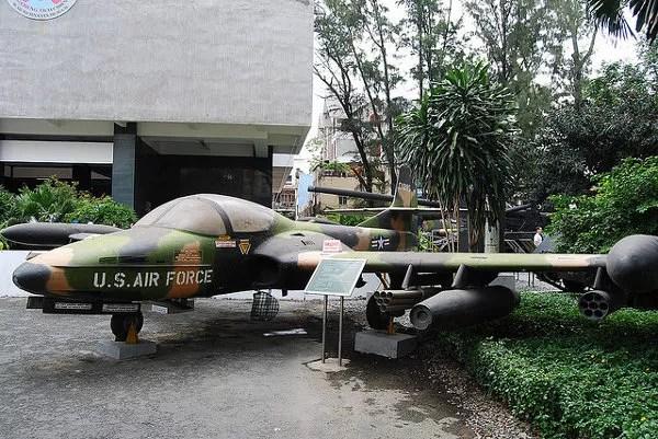 Caza en el Museo de Recuerdos de la Guerra