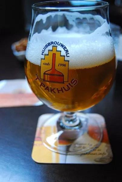 Cerveza 't Pakhuis de Amberes