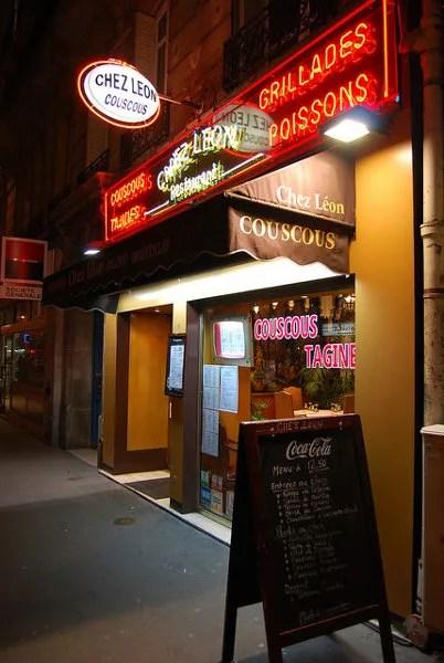 Chez León, specialites oriantales en París